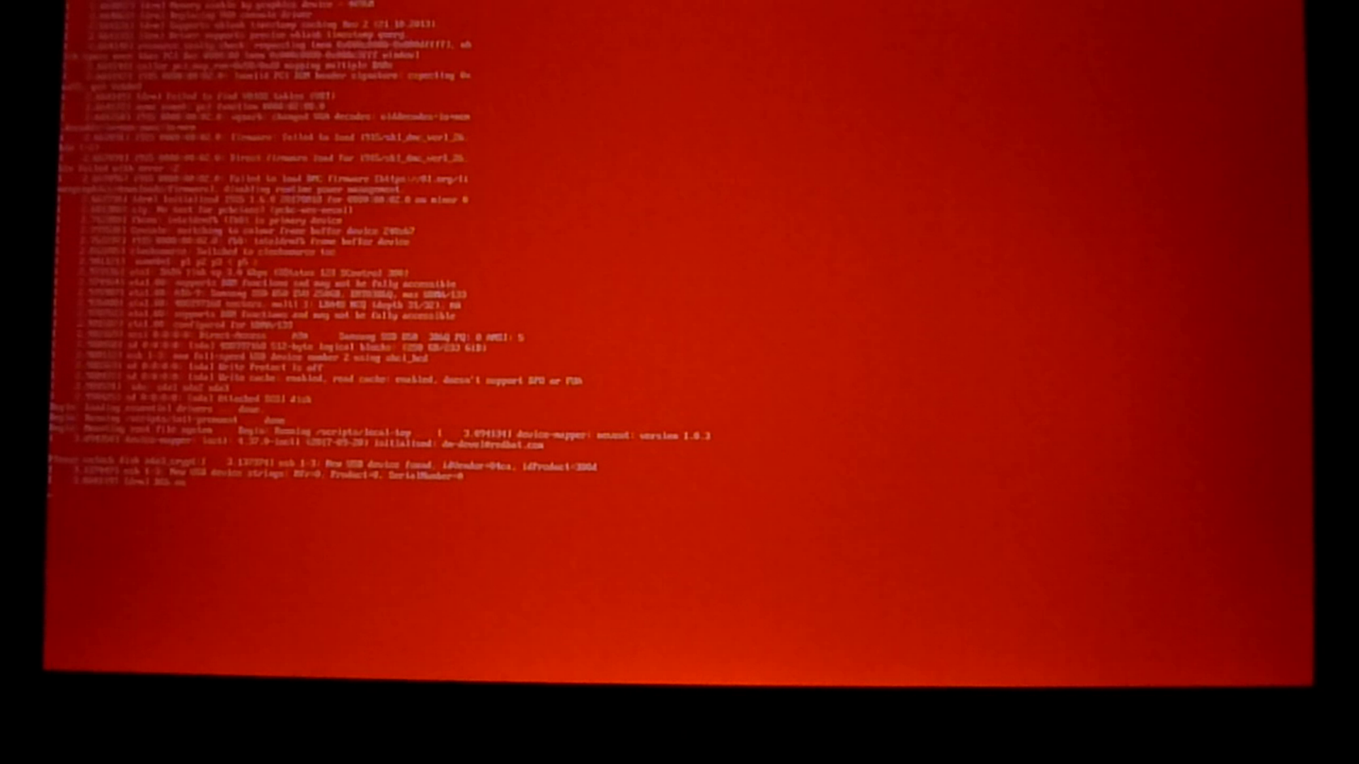 Insecure boot mode