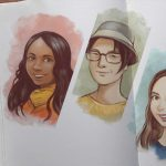 Personas sketchbook